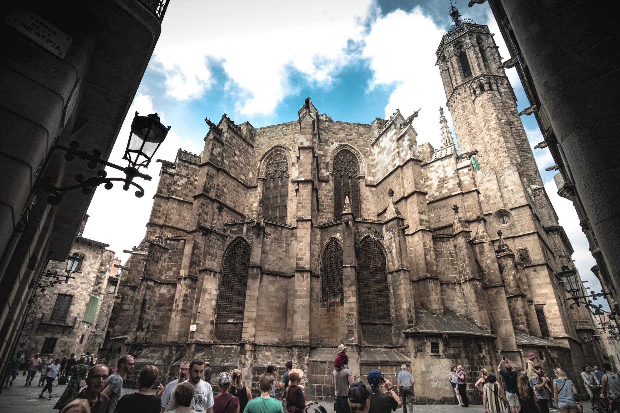 Church in Barcelona Gothic neighborhood photo by Jo Kassis