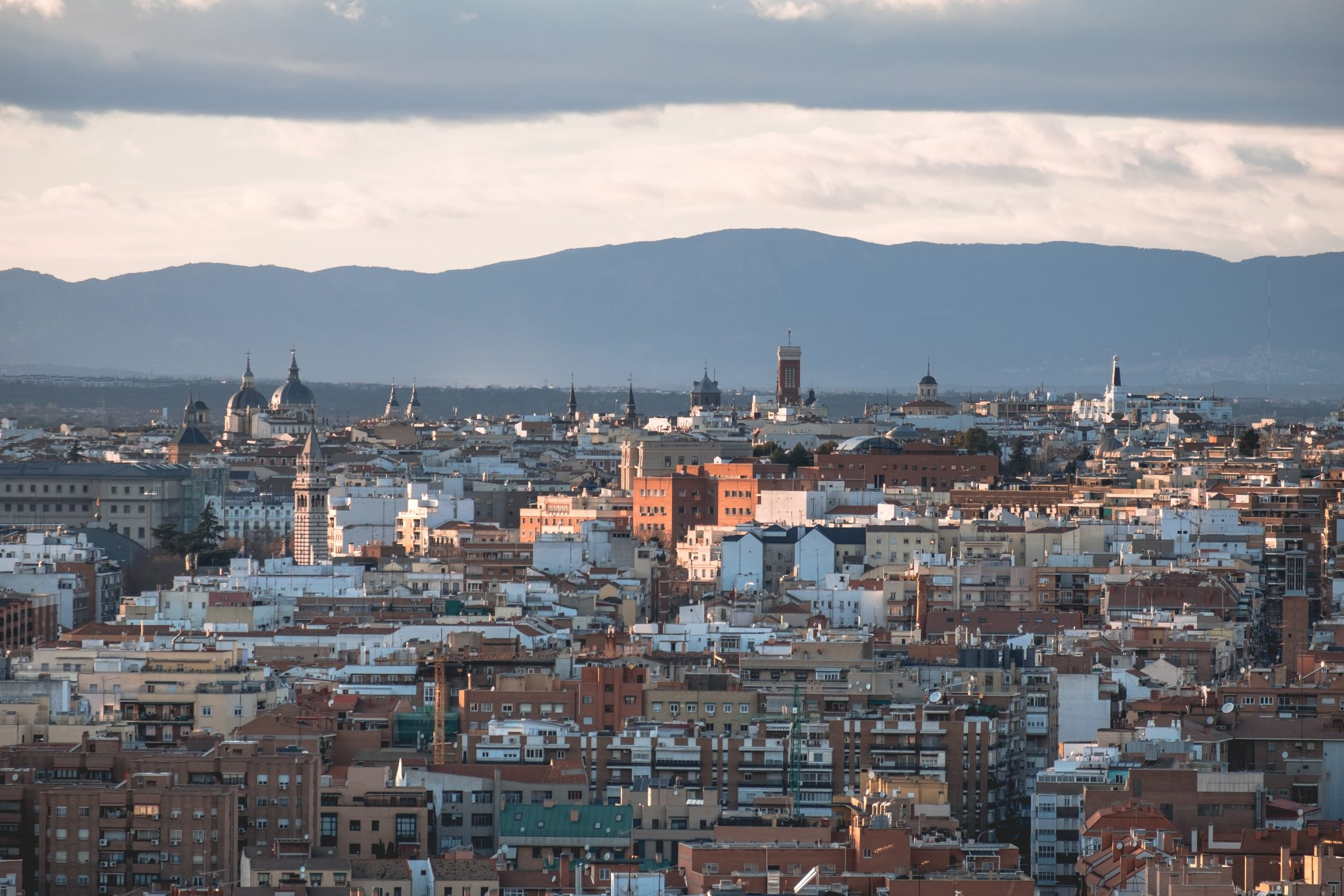 Panoramic view of Madrid photo by Jo Kassis