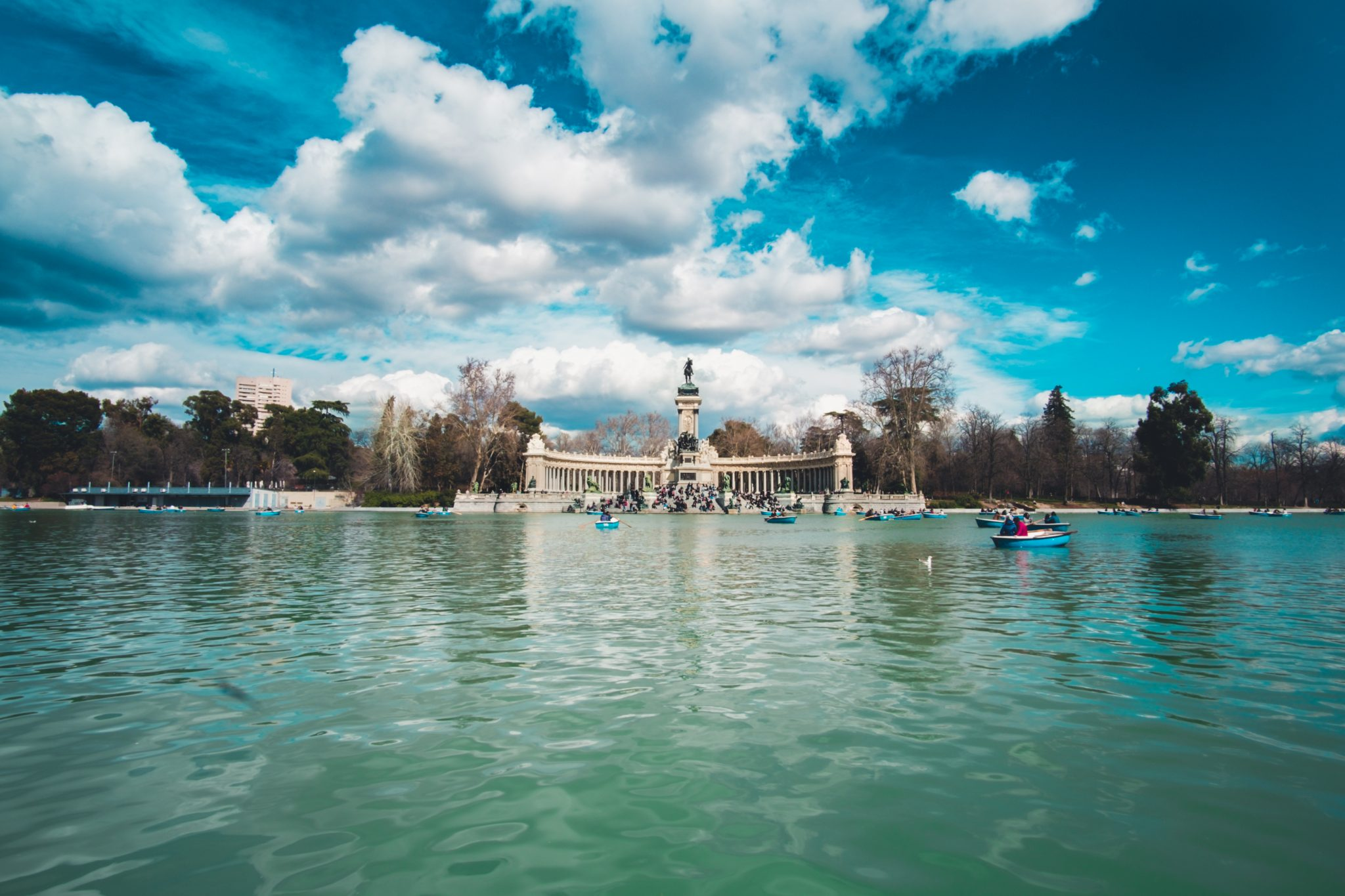 Retiro Park Madrid photo by Jo Kassis