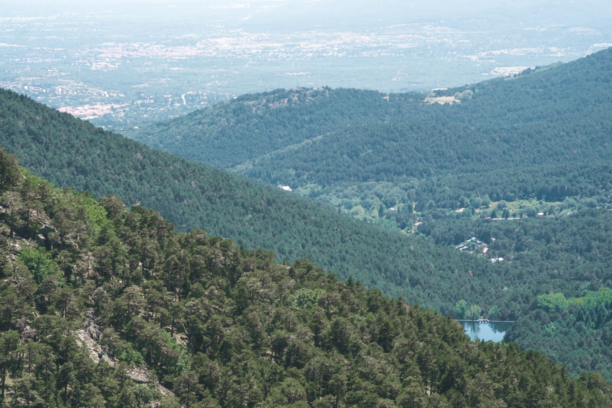 Panoramic view in the region of the Escorial by Jo Kassis