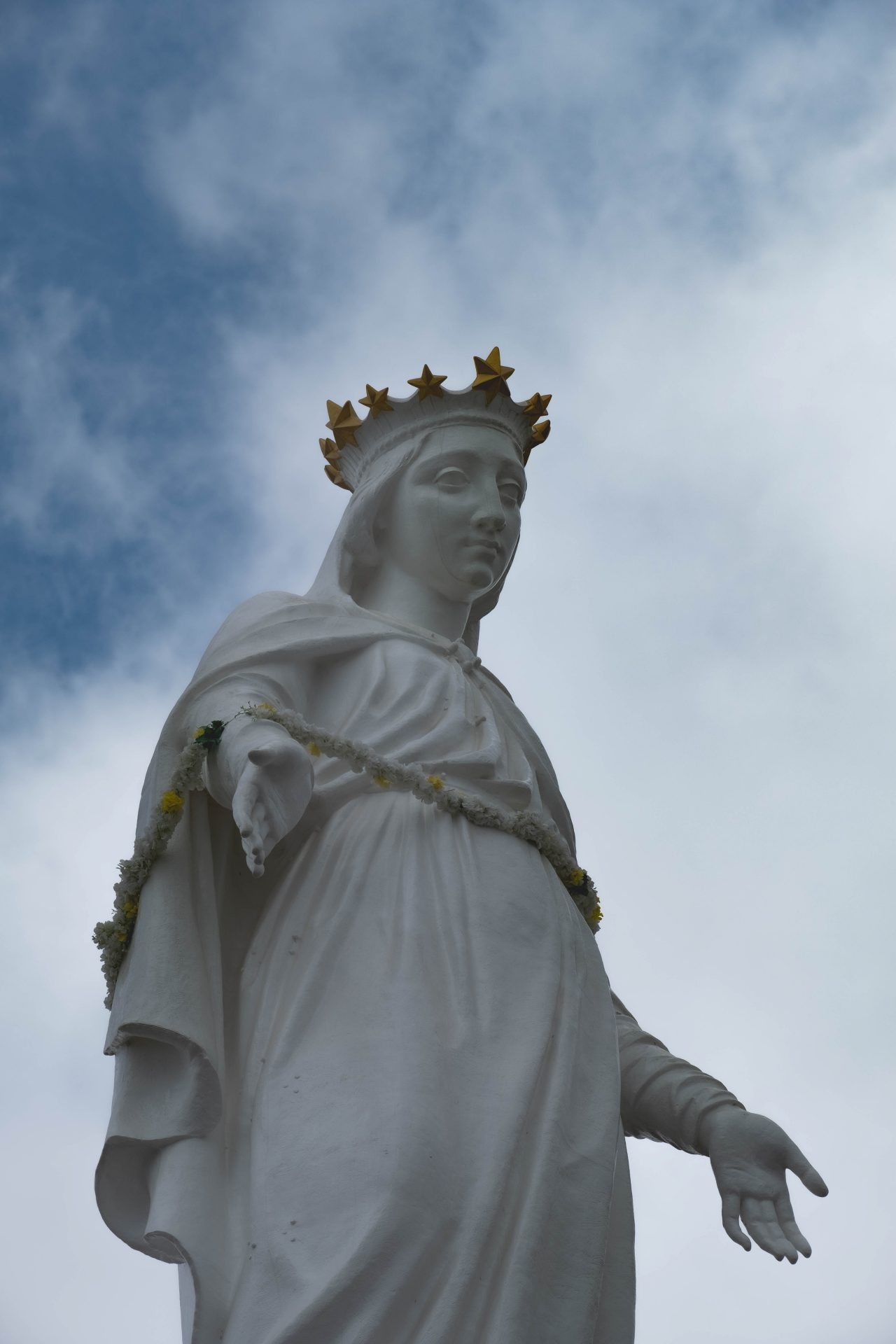 Harissa notre dame du liban virgin mary statue our lady of lebanon photo by Jo Kassis
