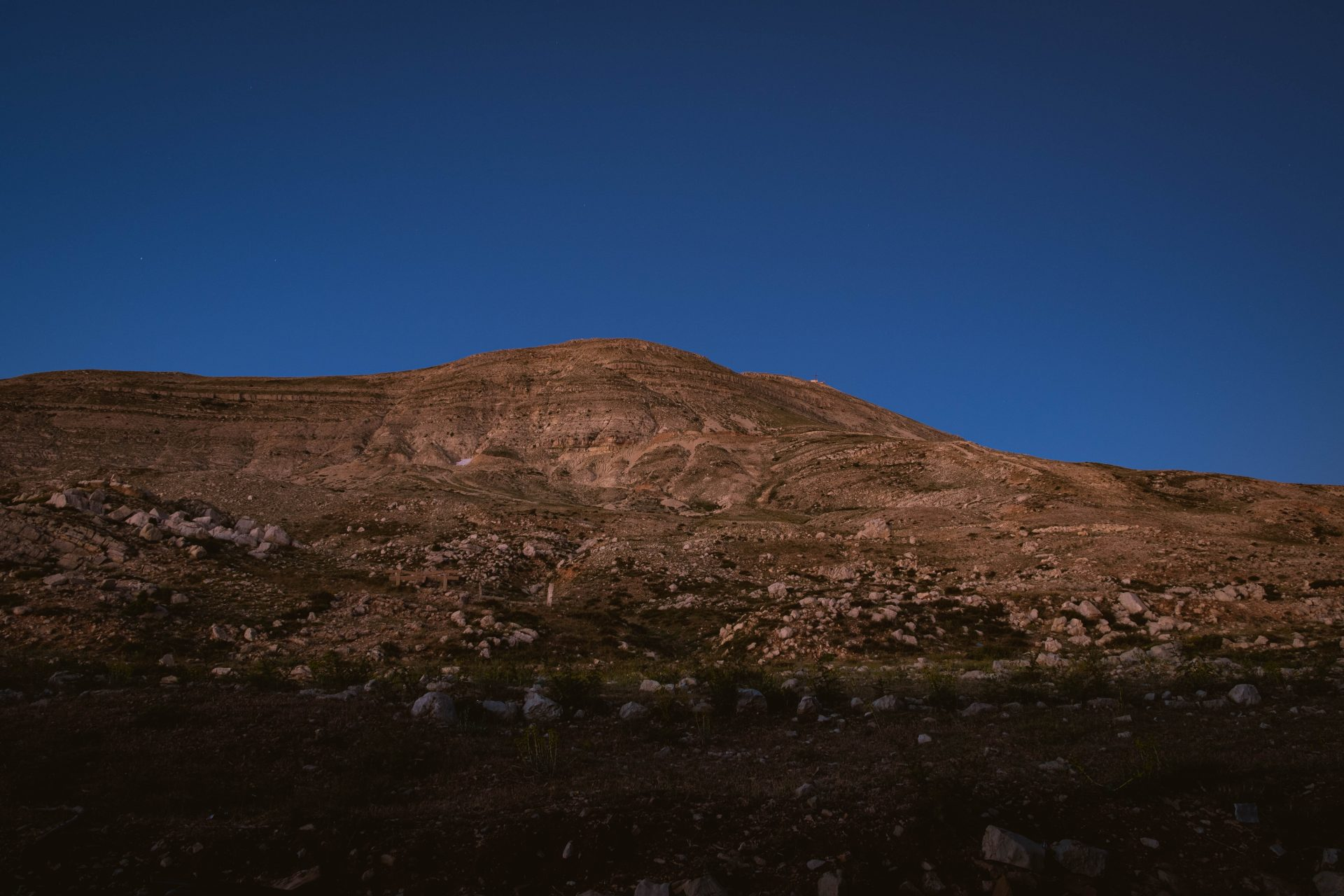 Panoramic view of the lebanese mountain at sunset photo by Jo Kassis