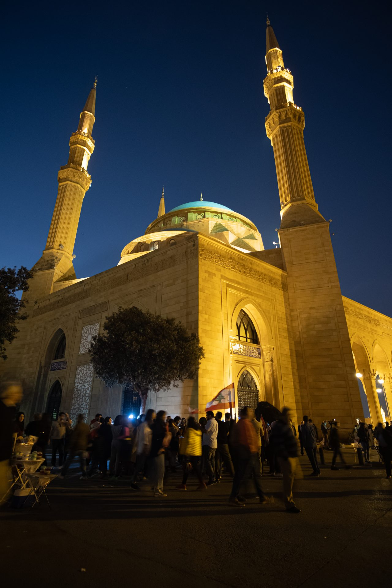Al Amin mosque in Beirut Lebanon Photo by Jo Kassis