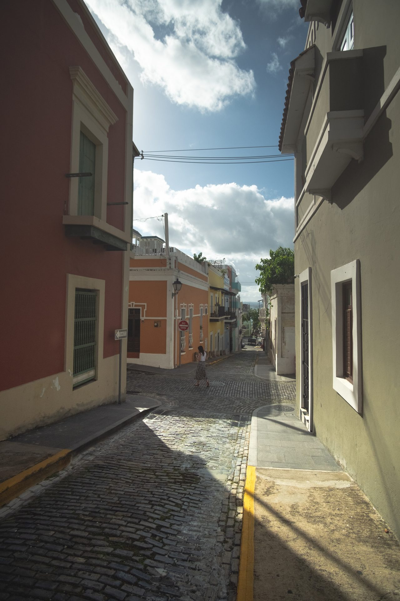 The streets of San Juan photo by Jo Kassis